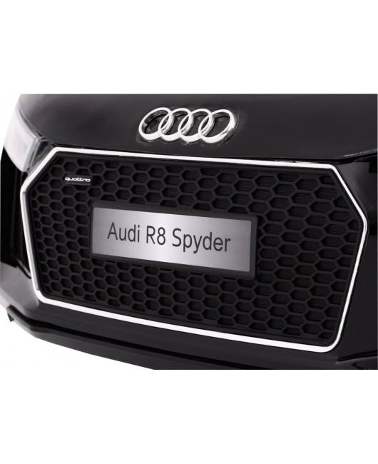 Elektrické autíčko AUDI R8 Spyder RS EVA kolesá 2.4 G čierne